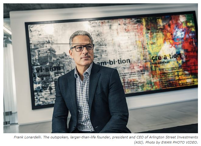 Frank Lonardelli, founder, president and CEO of Arlington Street Investments, is making headlines once again! Great ambassador for the PCMA, Calgary and the private capital market industry!