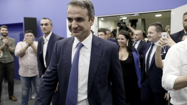 Greece's Mitsotakis Gets 'Show Me' Treatment From Investors