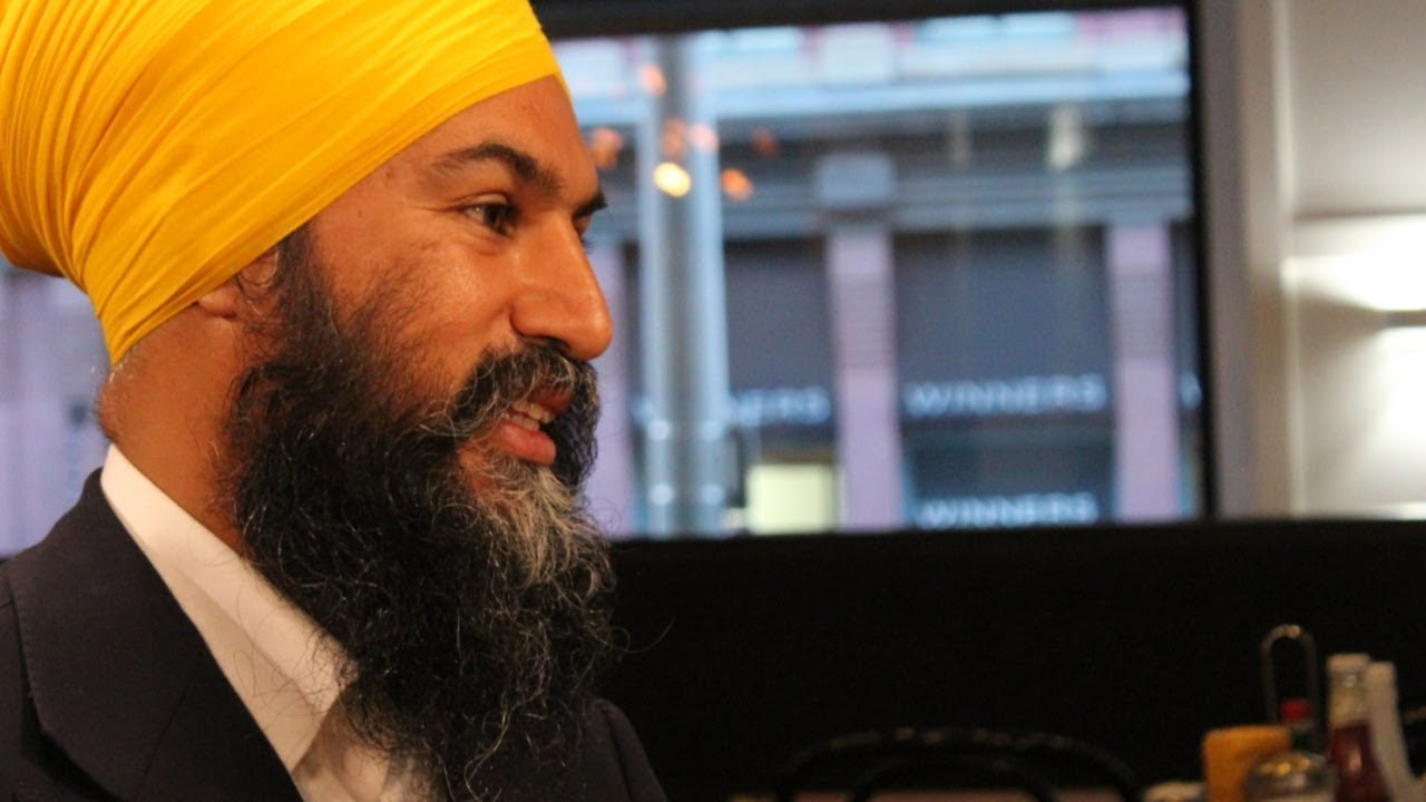 Any province could veto a major pipeline under an NDP government, says Singh