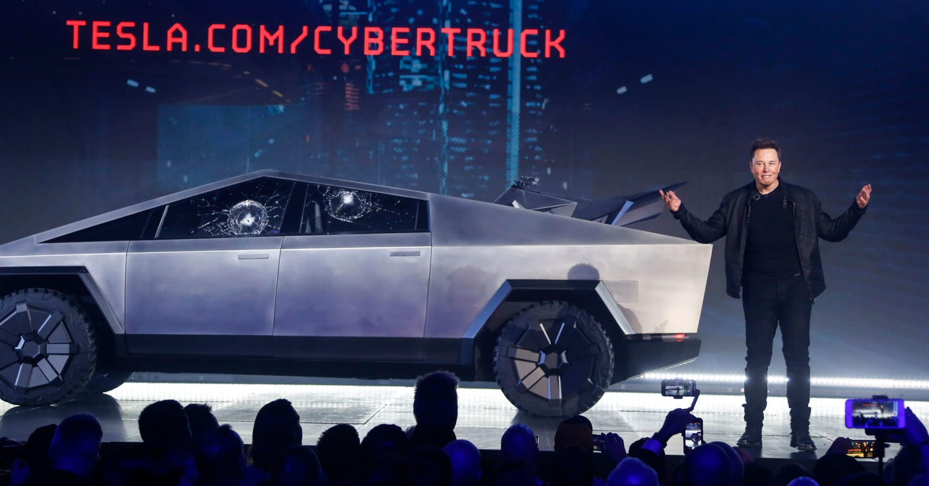 Elon Musk says Tesla has received 200,000 orders for its Cybertruck despite botched debut