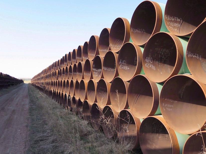 Biden says he'd cancel Keystone XL pipeline permit if elected