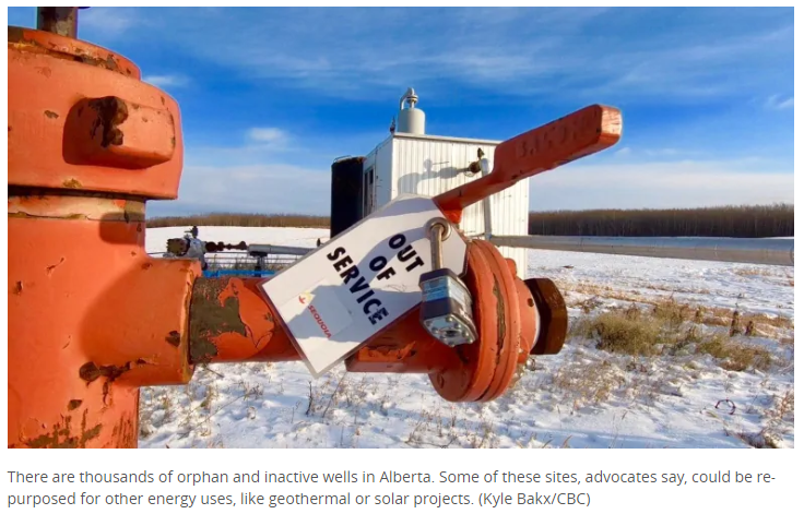How Alberta could give old oil wells new life — but it has nothing to do with crude