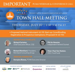 PCMA Crowdfunding Town Hall Meeting
