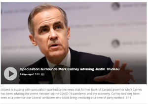 Former Bank of Canada governor Mark Carney advising PM on COVID-19 economic response