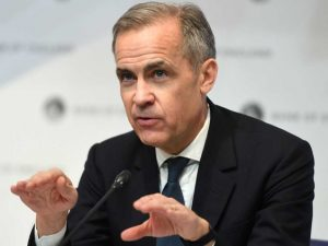 Transition to net zero emissions is 'the greatest commercial opportunity of our age,' Mark Carney tells financial sector