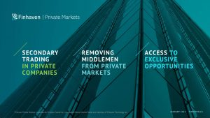 Finhaven Private Markets — a new private securities marketplace — launches across Canada