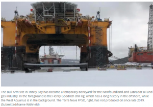 A year of misfortune: How the global pandemic has battered N.L.'s oil and gas industry