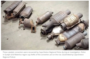 Catalytic converter thefts rise as metal inside 'more valuable than gold'