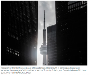Who knew? Toronto the Boring is now North America's top financial centre, next to New York