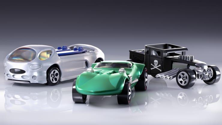 Mattel announces Hot Wheels digital collectibles, joining NFT art boom