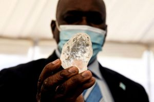 Shine bright: Botswana unveils 'third-largest' diamond ever found